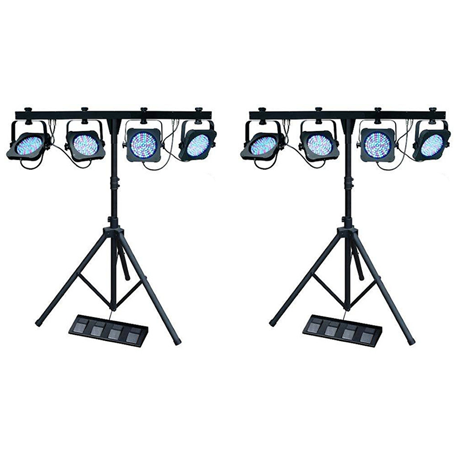 Led Party Lighting Pair